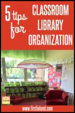 Easy Tips For Classroom Library Organization