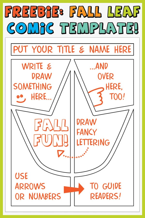picture regarding Comic Template Printable named No cost Comedian Template for Inventive Pupil Creating - Clroom