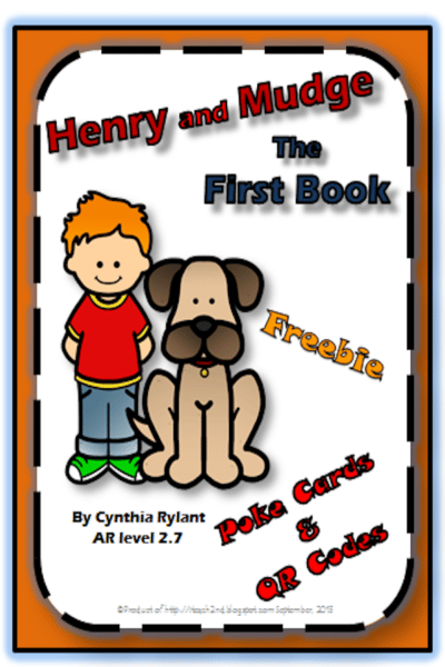 Henry and Mudge QR Codes and Poke Cards