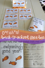 Back-to-School Idea Freebie! Cheap and Easy!