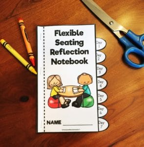 flexible seating notebook