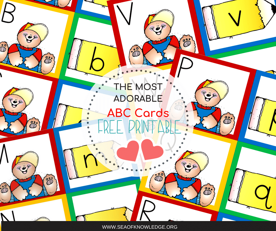 ALphabet Uppercase and Lowercase Cards