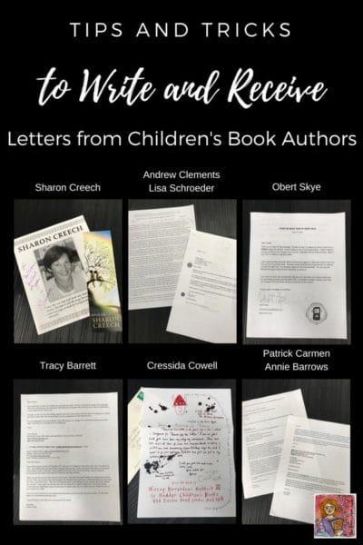 author letters letter writing #kidlit #childrensbooks #letterwriting