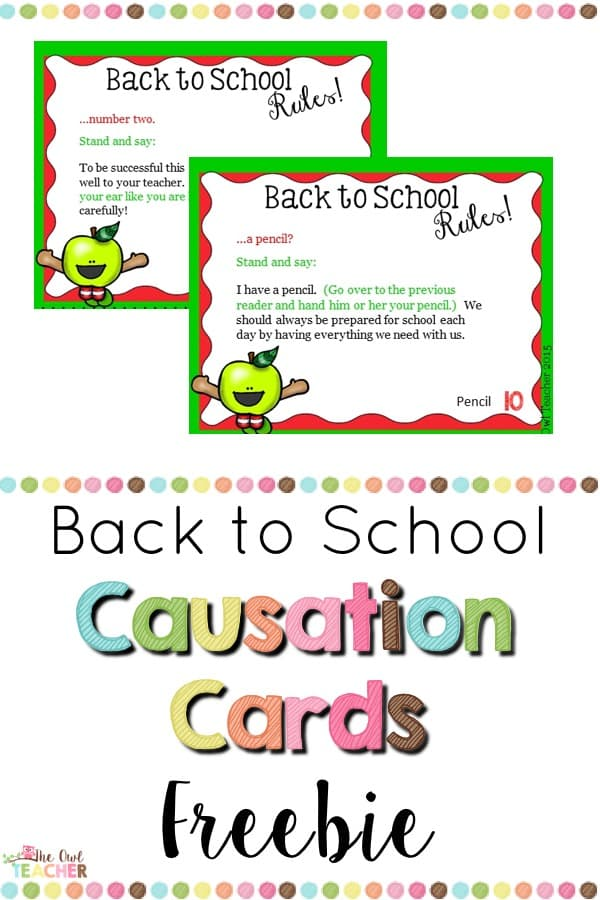 As you are heading back to school, you've got to try these causation cards FREE! They are like task cards but are for reading and they are incredibly engaging! Check out this post to learn more!