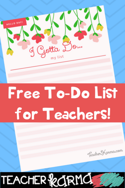 12 Things Teachers Secretly Do in the Summer & FREE To Do List