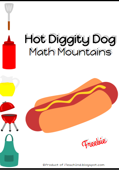 Hot Diggity Dog Math Mountains