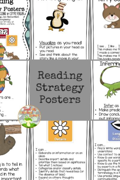 Reading Comprehension Strategies with Technology