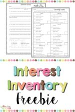 Grab this Interest Inventory!