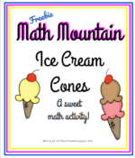 Math Mountain Ice Cream Cones