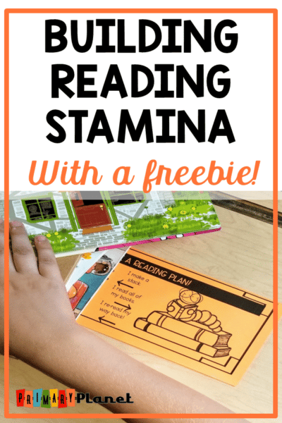 Reading Stamina Building!  Don't miss these freebies!