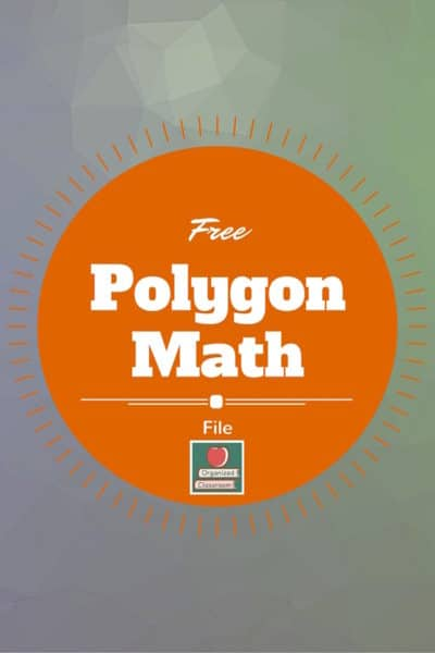 How do you teach about polygons? Here are a few suggestions, but we would love to hear some from you as well! #geometry #math