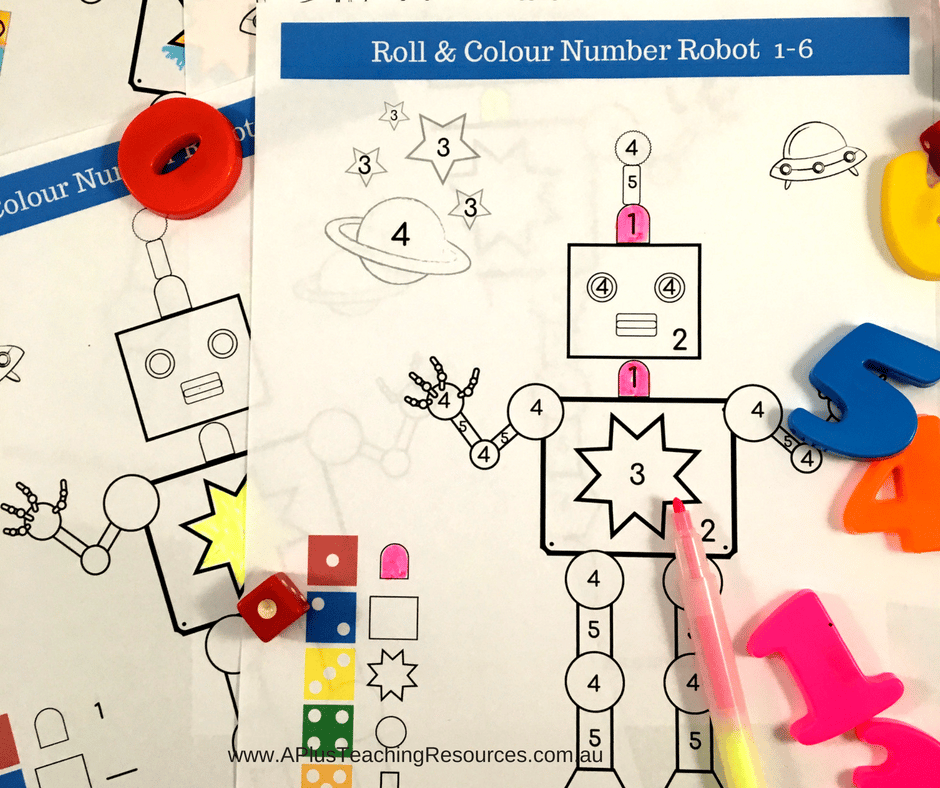 number recognition Free Printable