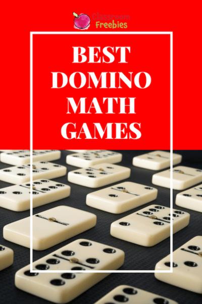 Best Domino Math Games #mathgames #lessonplans