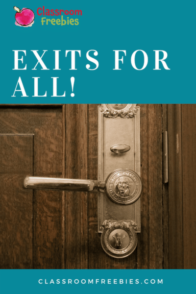 Exits for All