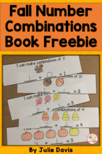 Fall Addition Combinations Math Book