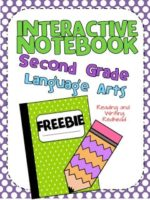 Grab an Interactive Notebook Writing  Freebie