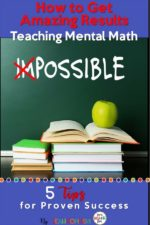 Grab FREE Mental Math Task Cards