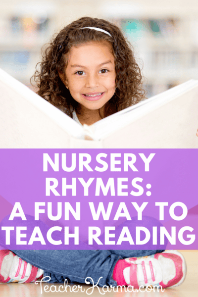 Nursery Rhymes- how to use these poems to teach beginning reading skills