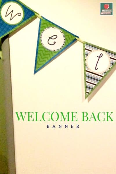 DIY Welcome Banner