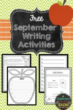 September Writing Activities