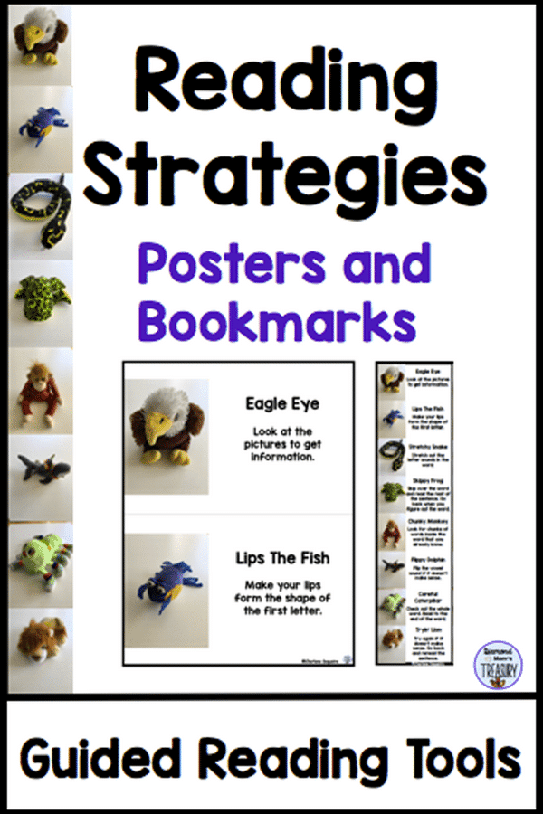 Reading strategies for guided reading that work #classroom freebies #guided reading #reading strategies