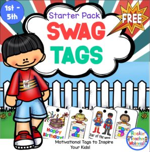 These free Swag Tags are a great classroom management tool for your kids.