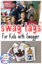Swag Tags – A Great Positive Classroom Management Tool