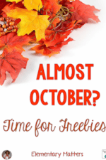 October Freebies