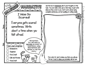 Halloween is an exciting holiday for kids, between the scary stories, the costumes, and the candy. Teachers might find it hard to keep the focus on academics around Halloween, which is why I'm sharing these free Halloween writing prompts! Click through to download your free paragraph writing prompts for upper elementary.