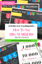 Cool Trick For Reading Big Numbers {FREE Posters}