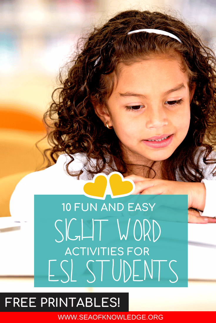 Sight Words for ESL Students (2)