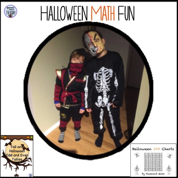 Free math activities for fall and Halloween fun. #classroomfreebies #Halloween #mathfreebies