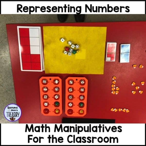 Engage student learning with math manipulatives #mathmanipulatives #engagestudentlearning #classroomfreebies