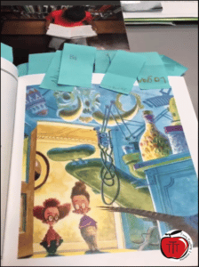 Free making reading connections graphic organizer worksheet Terri's Teaching Treasures
