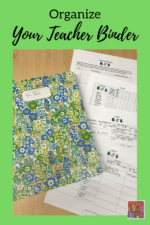 Organize your Teacher Binder