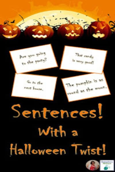 Reading Sentences with a Halloween Twist