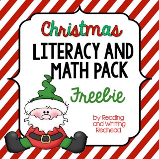 #classroomfreebies morning work, homework, Christmas
