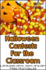 Halloween Classroom Contests