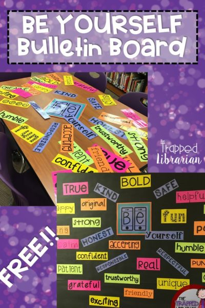 Be YOU!: An Inspirational Bulletin Board