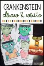 Crankenstein Draw & Write Activity