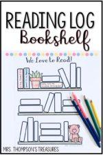 Bookshelf Reading Log