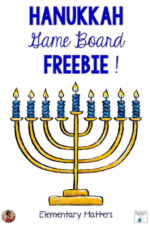 Hanukkah Game Board