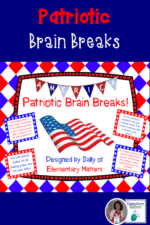 Writing Paper for Veterans Day, and a Brain Break Freebie!
