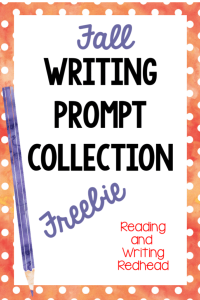 Fall Writing Prompt Freebie