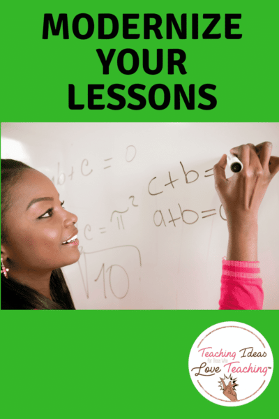 Tips to modernize your lessons