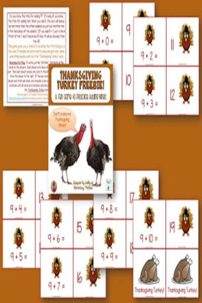 Don't Be a Turkey! #math #lessonplans