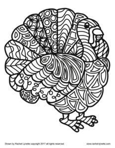 Kids can be restless and excitable before Thanksgiving break, because it's often been a long time since the last school break. These turkey coloring pages for Thanksgiving can be used to reduce stress, aid in calming behaviors, and for fun. Click through to download these free coloring sheets!