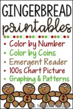 Gingerbread Man Printables