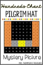 Pilgrim Hat Hundreds Chart Picture