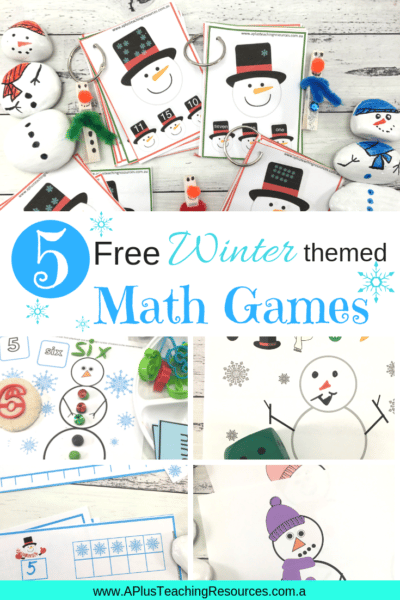 These FREE Kindergarten Snowman math games are great winter themed printables for helping kids learning numbers, counting and subitizing. There's 5 Free printables that's one pack for each day! Snow much fun for preschool and Kindergarten kids to practice subitizing and learning to identify numbers. Get them for FREE from our website! #numbersense #freeprintable #winteractivitiesforkids